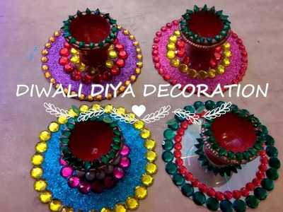 DIY Diwali Home Decoration Ideas : How to Decorate Diwali Diyas | SIMPLICITY