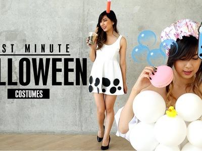 DIY Last Minute Halloween Costumes | Quick & Easy
