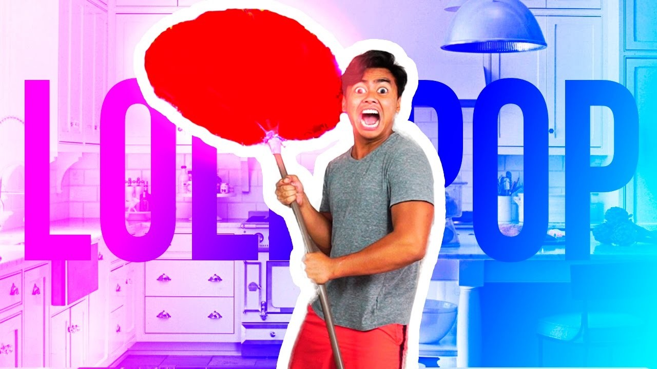 DIY MEGA GIANT LOLLIPOP!