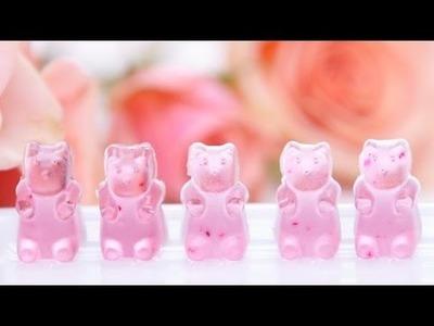 DIY Rosé Wine Gummy Bears | Eat The Trend