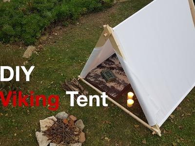 DIY Viking Canvas Tent