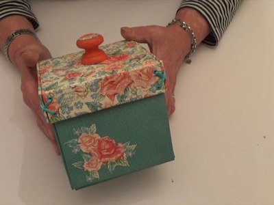 Exploding Sewing Box