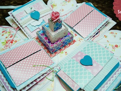 Explosion Box Shabby Chic | The Sucrafts