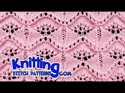 Ginkgo Leaf   Lace Knitting #19
