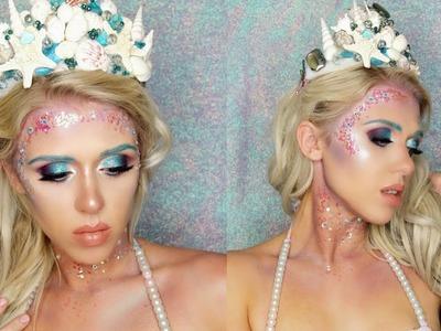 Halloween Makeup Tutorial: Glamorous Mermaid