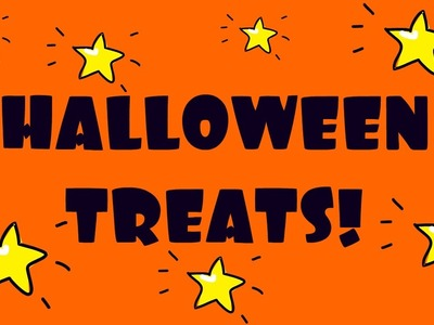 Halloween Treats DIY! Treats for Halloween Recipes & Halloween treats for kids! Halloween recipes