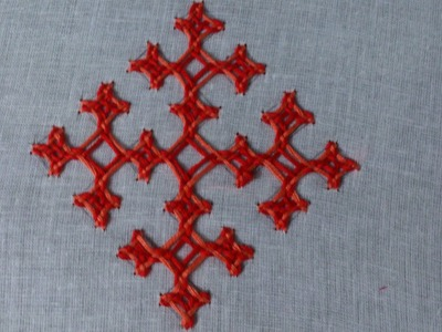 Hand embroidery- kutch work motif-leisha's galaxy.
