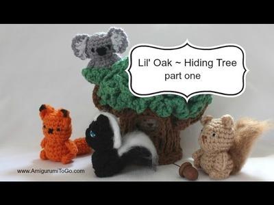 Hiding Tree Amigurumi Part One