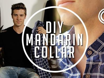 How to: Make a DIY Mandarin Collar || Gent's Lounge