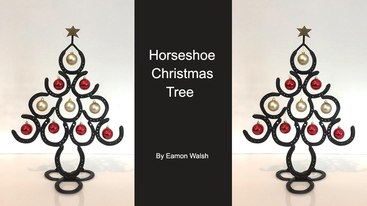 How to make a Horseshoe Christmas tree by Eamon Walsh
