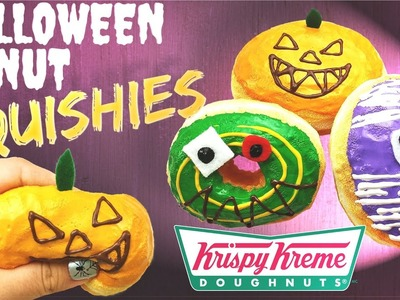 How to make HALLOWEEN DONUT SQUISHIES- Krispy Kreme Japan Edition-DIY TUTORIAL (french subtitles)