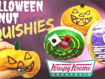 How to make HALLOWEEN DONUT SQUISHIES- Krispy Kreme Japan Edition-DIY TUTORIAL (french subtitles)