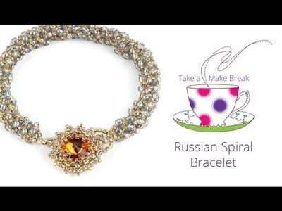 Russian Spiral Bracelet | Take a Make Break with Sarah