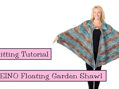 SKEINO Floating Garden Shawl