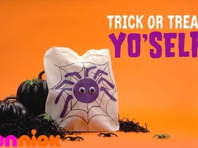 Spider Tote | Halloween DIY | TeenNick
