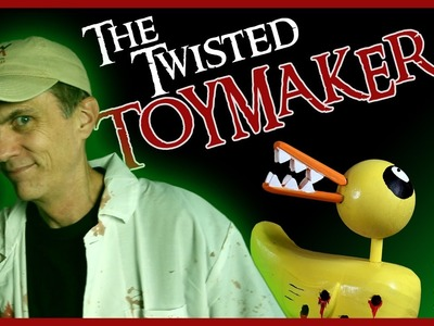 The Twisted Toy Maker: Making the Nightmare Before Christmas Duck | Sponsored by Shudder