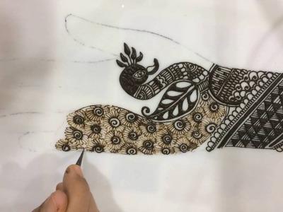 Tutorial 21: rajvadi style intricate traditional bridal mehendi