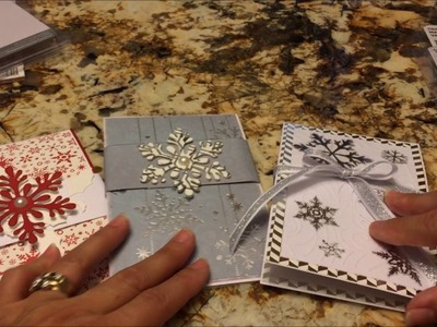 Twist Pop Up Christmas Card Using My Stash - 2016