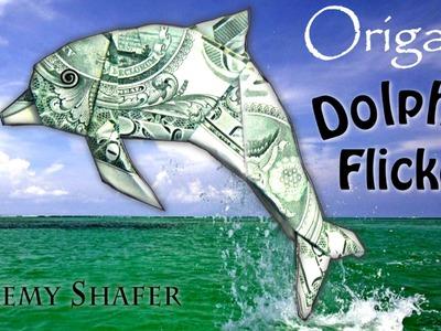 $1 Origami Dolphin Flicker (no music)