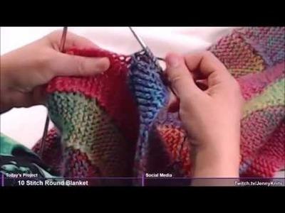 10 Stitch Twist Blanket - Give it a try, you'll enjoy it.