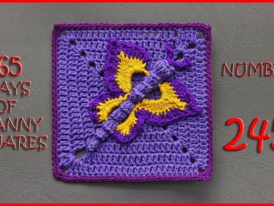365 Days of Granny Squares Number 245