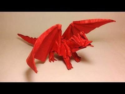 Ancient Dragon Origami