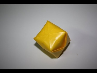 Balloon Origami Water Bomb - Working - (SLOW MOTION)