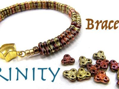 Beading Ideas - Trnity Beads Bracelet