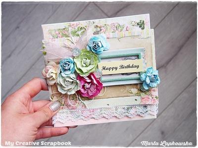 Beginners Shabby Chic Card Tutorial 'Happy Birthday'