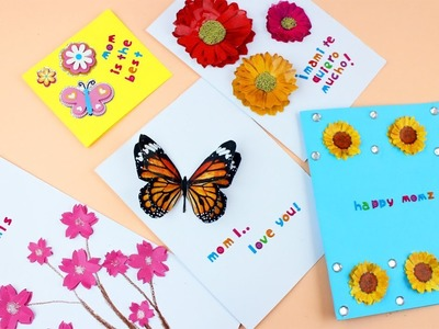 Cardmaking: Mother's Day Cards - EP 733 - simplekidscrafts