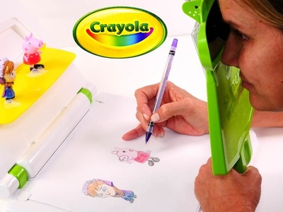 Crayola Sketch Wizard Draw any Toy Quick and Easy - Peppa Pig and Disney Frozen Toys