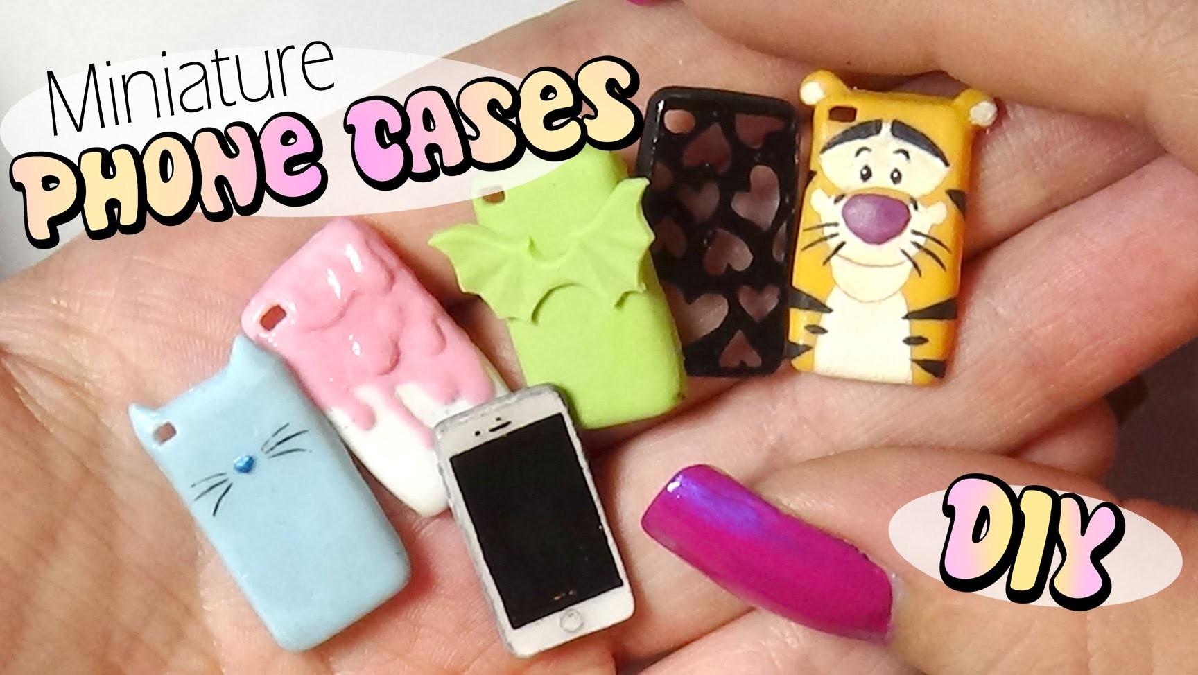 Cute & Easy Miniature Phone Case Tutorial. Doll.Dollhouse