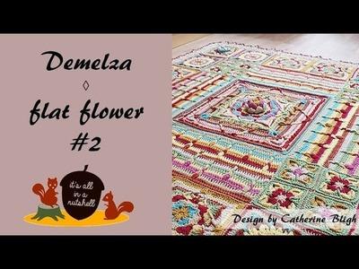 Demelza Part 3 - Flat Flower #2
