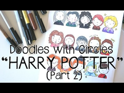 Doodles with Circles : Harry Potter (Part 2)
