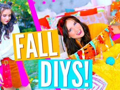 FALL DIYS YOU NEED TO TRY! Room Decor, Recipes & More!!!