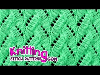 Faux Braid | Lace Knitting #20