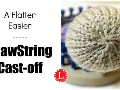 Flat Drawstring Cast-off - Another Version