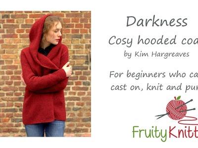 Fruity Knitting Tutorial - Darkness Coat