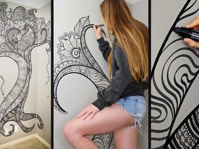 Henna Tree Wall Art | Mehndi Design