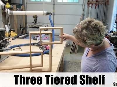 How to Build a Three Tiered Wood Shelf