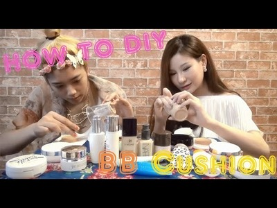 "How to DIY BB Cushion By Style Station ""มาลองทำ BB Cushion ของตัวเองกันเถอะ"""