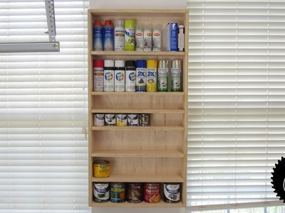 How to Make a Finishing Supply Shelf!