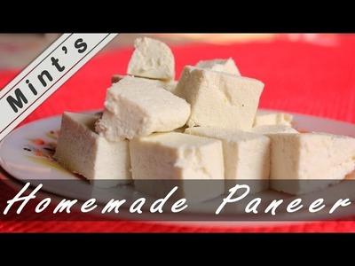 How To Make Paneer At Home in Hindi-Homemade Paneer-Soft Paneer at Home - Ep-58