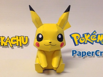 How to make Pikachu Papercraft from Pokemon Go