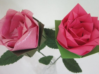 INTRODUCTION - Origami Rose #2
