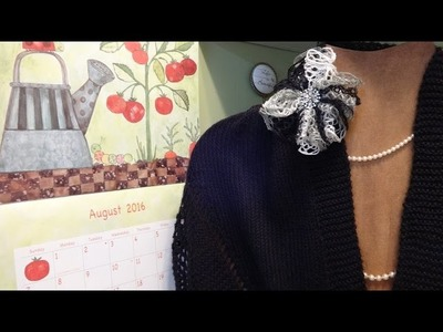 J's Knit - Let's go to Rio Shawl. EP. #49.