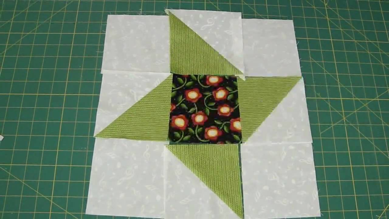 Make a Friendship Star Quilt Block Using Turnovers - Turnover Week