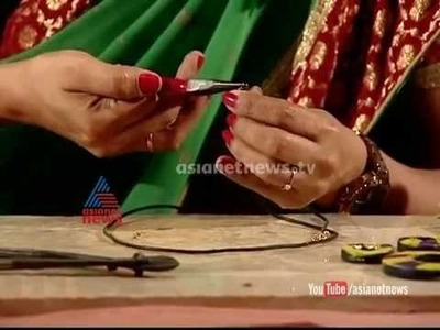 Making of terracotta ornaments: Ithalukal 8th Oct. 2014