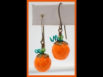 Must Know Monday (10.10.16) Pumpkin Earrings