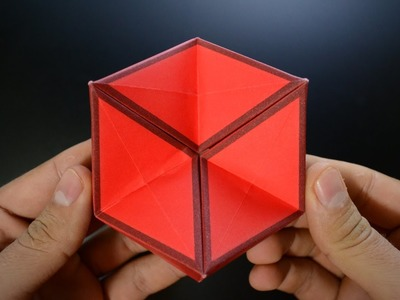 Origami: Action Toy. 3D Hexaflexagon - Instructions in English BR
